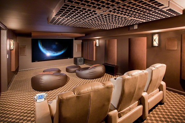 Our Acoustic Home Theater Room Panels Are Aesthetically Pleasing And  Customizable. They Offer An Elegant And Economical Sound Absorption  Solution, ...