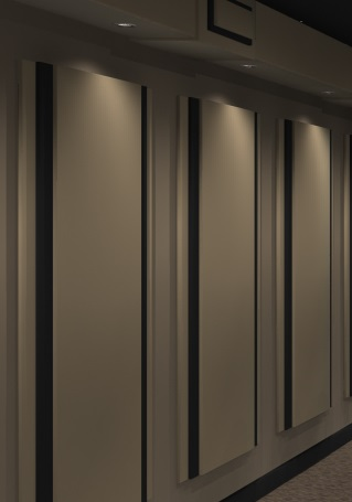 Acoustic Wall Panels Home Theater Noise Control